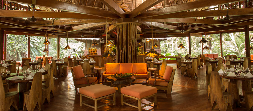 Dining Room & Bar - Reserva Amazonica