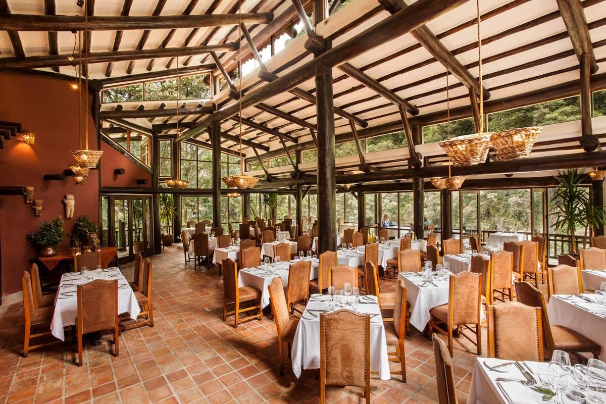 hotel dining rooms | Dining Room & Bar - Machu Picchu Pueblo Hotel