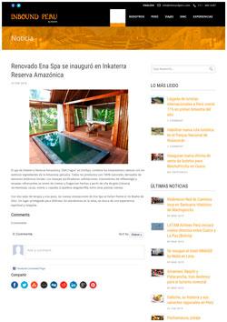 Press Reserva Amazonica - Madre de Dios Hotels - Tambopata